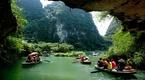 Tràng An - Ninh Bình - xanh trong mây nước